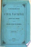 Código civil nacional