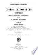 Código de comercio comentado según la doctrina y la jurisprudencia