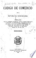 Código de comercio de la Republica dominicana