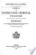 Código de instrucción criminal francés