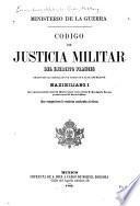 Código de justicia militar del ejército francés