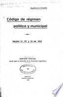 Código de régimen político y municipal
