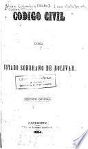 Código del estado soberano de Bolivar