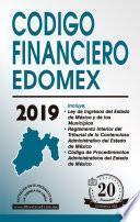 CÓDIGO FINANCIERO DEL ESTADO DE MÉXICO ECONÓMICO 2019