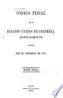 Código fiscal de los Estados Unidos de Colombia