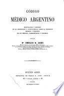 Código médico argentino