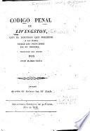 Código penal de Livingston