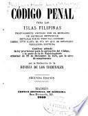 codigo penal para las islas Filipinas