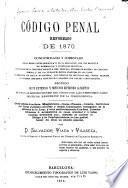Código penal reformado de 1870