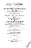 Códigos de comercio españoles y extranjeros y leyes modificativas y complementarias: Nombre comercial