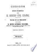 Códigos o estudios fundamentales sobre el derecho civil español