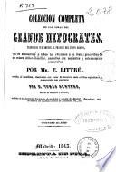 Colección completa de las obras del grande Hipócrates