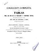 Colección completa de tablas para los usos de la navegación por Jose de Mendoza y Rios