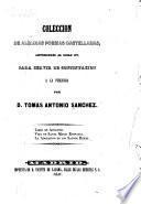 Coleccion de algunas poesias castellanas