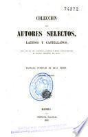 Colección de autores selectos, latinos y castellanos