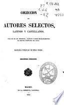 Colección de autores selectos latinos y castellanos: Primer año de latín y castellano (VII, 450 p.)