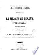 Coleccion de cánones y de todos los concilios de la Iglesia de España y de America, 3