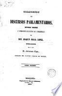 Colección de discursos parlamentarios, defensas forenses y producciones literarias de D. Joaquín María López, 7