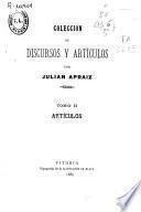 Colección de discursos y artículos