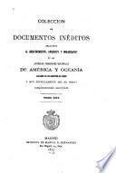 Colección de documentos inéditos