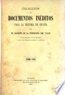 Colección de documentos inéditos para la historia de España ...