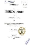 Coleccion de documentos inéditos para la historia de Espana