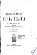 Colección de documentos inéditos para la historia de Navarra