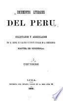 Coleccion de documentos literarios del Peru: Disertaciones geográficas y científicas del doctor Cosme Bueno