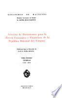 Colección de documentos para la historia económica y financiera de la República Oriental del Uruguay: Tierras, 1734-1810