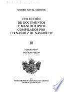 Colección de documentos y manuscriptos compilados por Fernández de Navarrete
