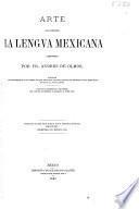 Colección de gramáticas de la lengua mexicana