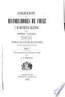 Colección de historiadores de Chile y documentos relativos a la historia nacional