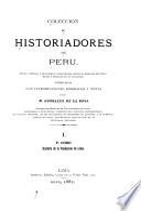 Colección de historiadores del Perú
