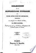 Colección de las alegaciones fiscales del Excmo. Señor Conde de Campomanes