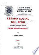 Colección de libros y documentos referentes a la historia del Perú