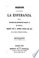 Colección de los artículos de La Esperanza sobre la Historia del Reinado de Carlos III en España, escrita por D. Antonio Ferrer del Rio