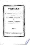 Coleccion de los decretos de observancia general, expedidos por el Supremo Gobierno del Estado de Guatemala, en los años de 1839, 1840 y 1841