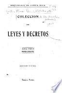 Coleccion de los decretos y ordenes que ha expedido la legislatura del estado ...