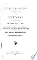 Colección de los trabajos leidos ó recitados en la velada lírico literaria celebrada en esta ciudad