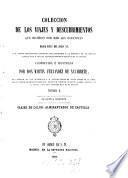 Colección de los Viages y descubrimientos que hicieron por mar los Espannoles desde fines del siglo XV.