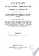 Colección de los viages y descubrimientos que hicieron por mar los españoles desde fines del siglo XV, 2