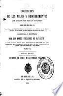 Colección de los viajes y descubrimientos que hicieron por mar los españoles desde fines del siglo XV: Documentos de Colón y de las primeras poblaciones