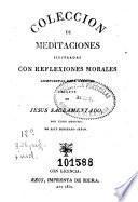 Coleccion de meditaciones ilustradas con reflexiones morales