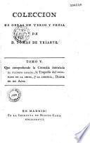 Colecciòn de obras en verso y prosa