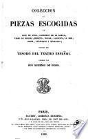 Coleccion de piezas escogidas de Lope de Vega, Calderón de la Barca