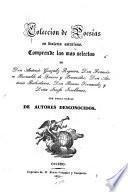 Colección de poesias en dialecto asturiano