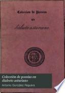 Colección de poesías en dialecto asturiano