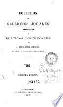 Coleccion de sermones morales, panegíricos y pláticas doctrinales, 1