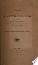 Colección de sonetos bíblicos del Antiguo y Nuevo Testamento, religiosos é histórico-católicos, morales, diversos, históricos, epigramáticos y filosóficos