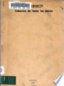 Coleccion de todas las piezas publicadas en el estado de San Luis Potosi